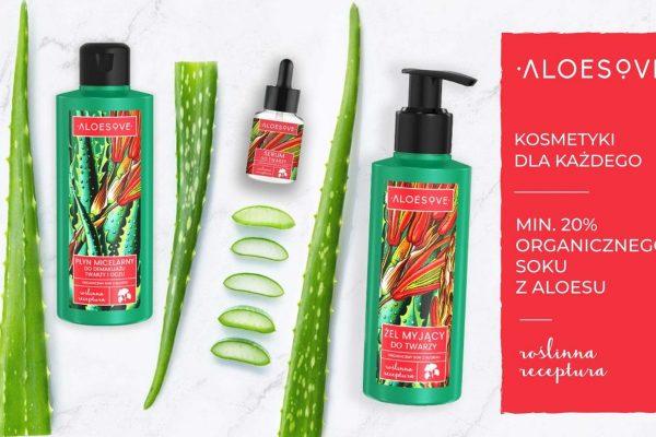 Zestaw kosmetyków Aloesove od Sylveco