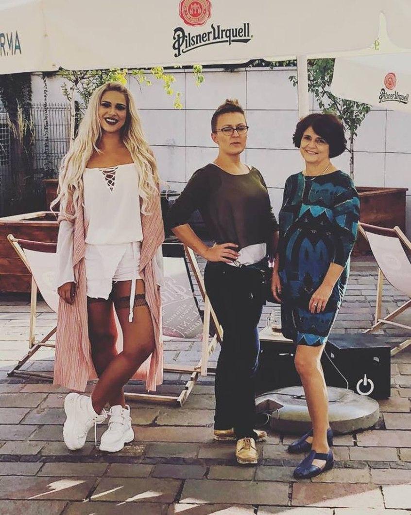 Uczestniczki i organizatorki projektu Kobiety Krakowa