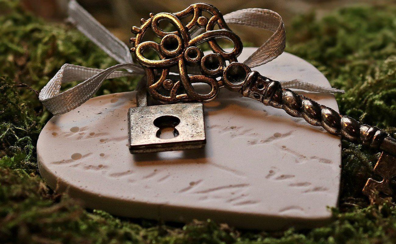 Serduszko, prezent w dowód miłości