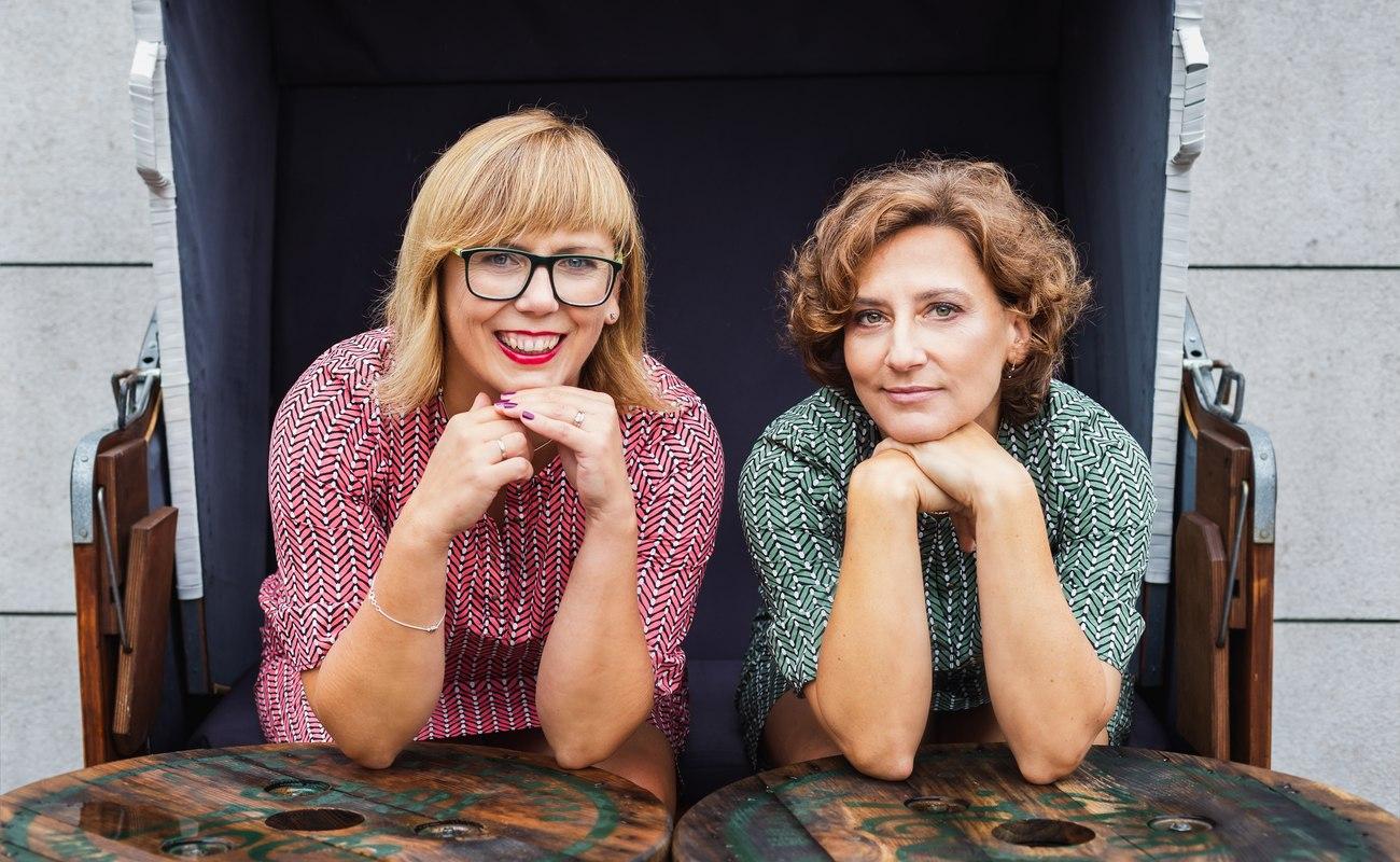 Katarzyna Filipek-Herniczek i Agnieszka Boroń-Przybyło w obiektywie Barbary Bogackiej