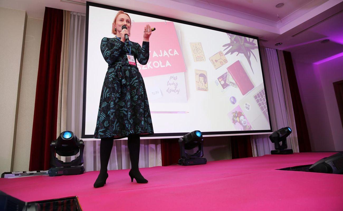 Agata Dutkowska podczas Festiwalu Rok Kobiet 2018