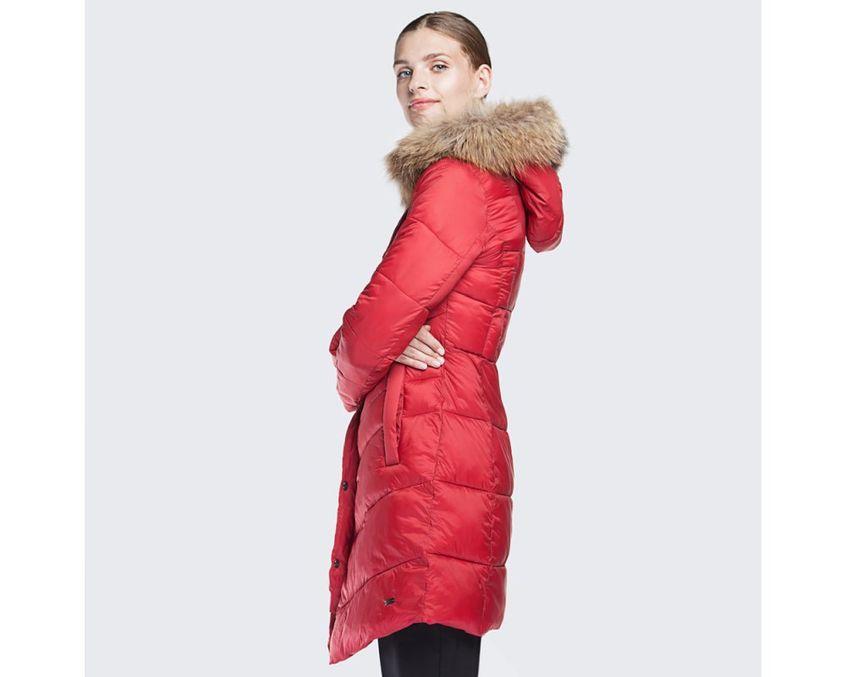 czerwona kurtka wittchen
