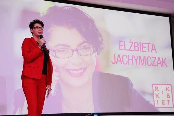 Elżbieta Jachymczak podczas Festiwalu Rok Kobiet 2018