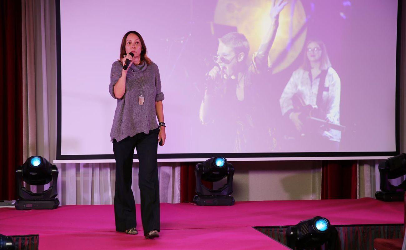 Ewa Langer podczas Festiwalu Rok Kobiet 2018