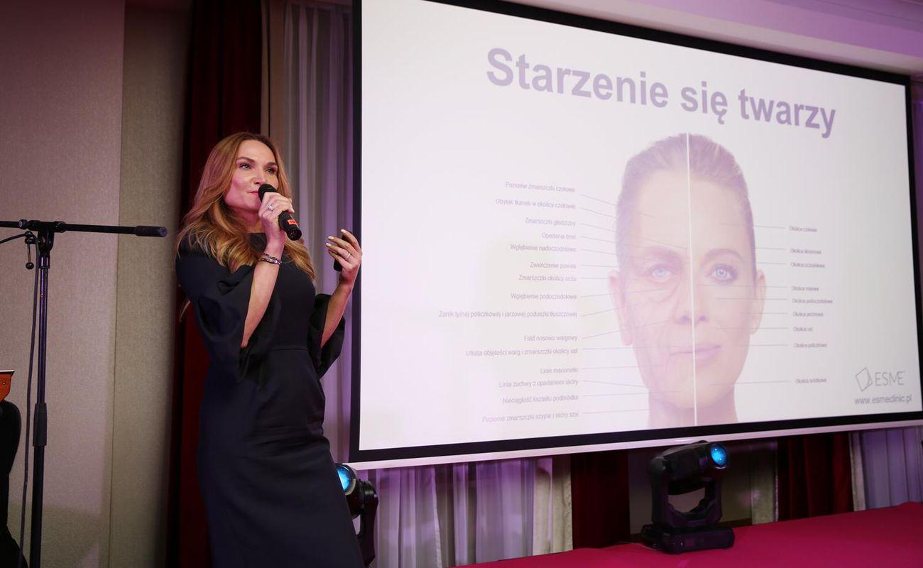 Dr Lidia Majewska podczas Festiwalu Rok Kobiet 2018