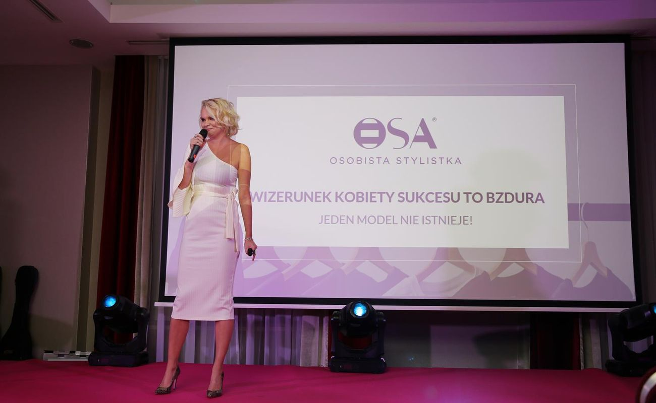 Monika Jurczyk podczas Festiwalu Rok Kobiet 2018