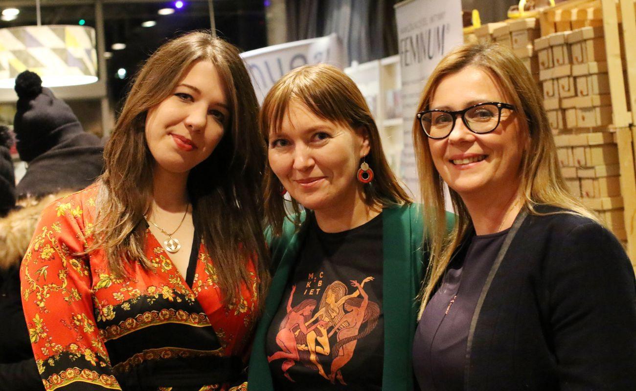 Nina Gabryś, Aneta Pondo i Katarzyna Bruzda-Lecyk