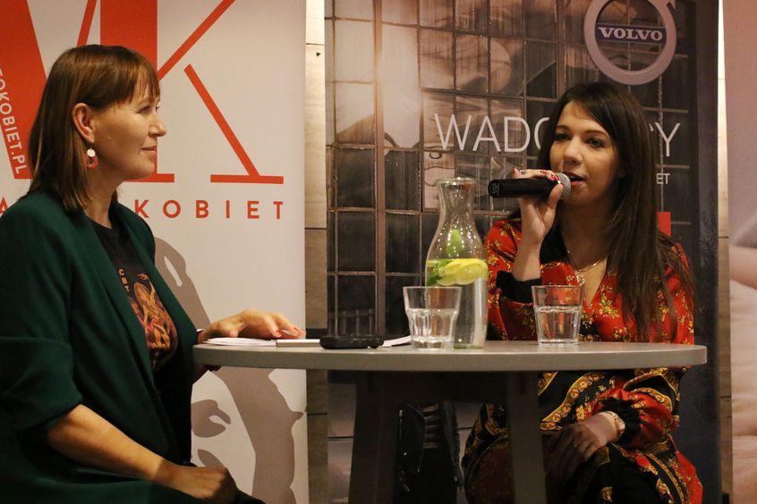 Aneta Pondo i Nina Gabryś podczas 24. KMK