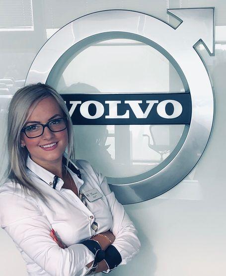 Sara Chrzanowska z Volvo Wadowscy