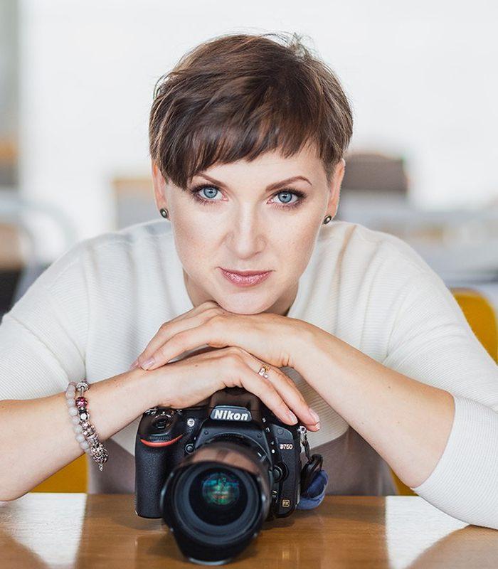 Marzena Rej-Brodowska w obiektywie Barbary Bogackiej