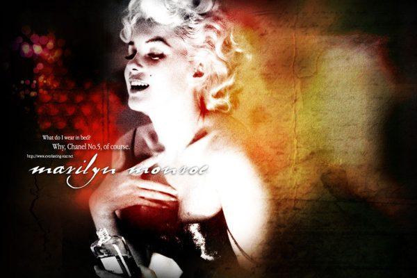 Marlin Monroe chodziła spać ubrana jedynie w zapach Chanel nr 5