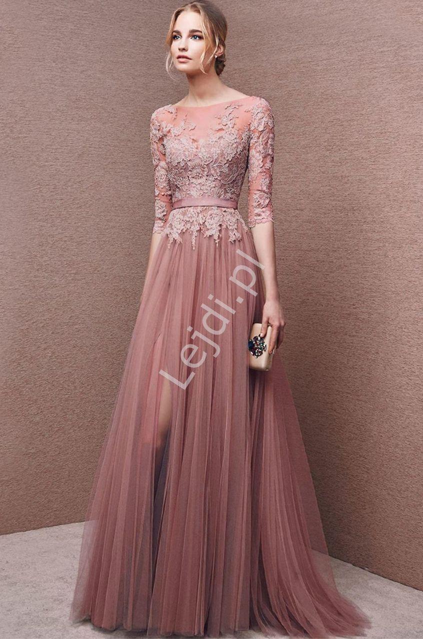 wieczorowa suknia