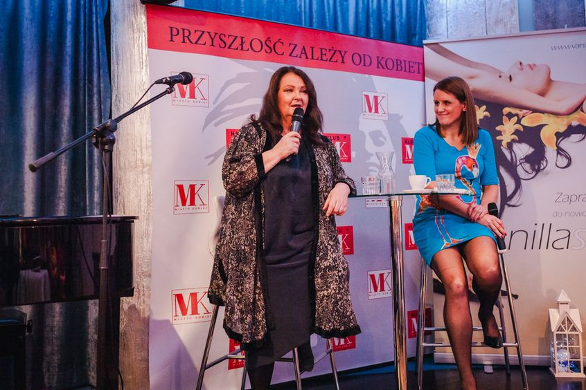Anna Dymna i Małgorzata Majewska