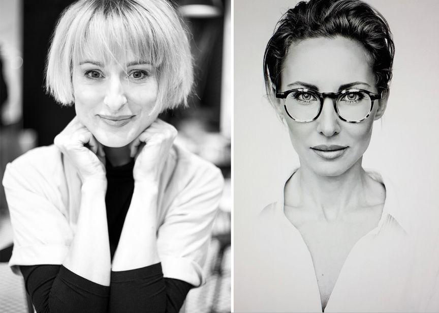 Ania Ciupryk i Anna Kurpas