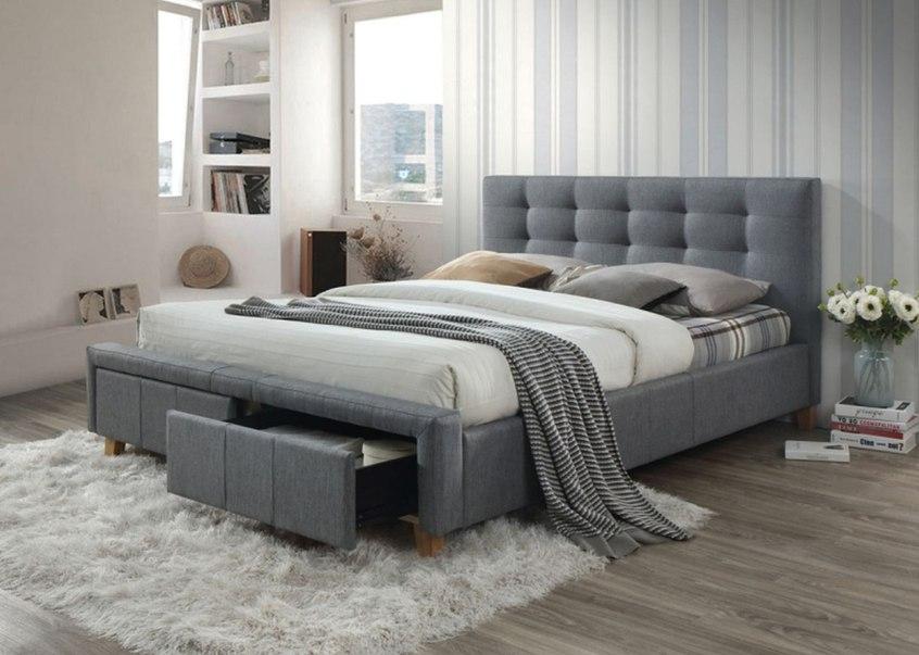 Dwuosobowe łóżko tapicerowane do sypialni – na co zwrócić uwagę podczas zakupu?