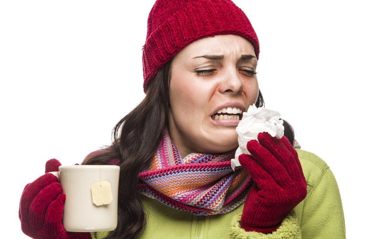 Naturalne sposoby na przeziębnie