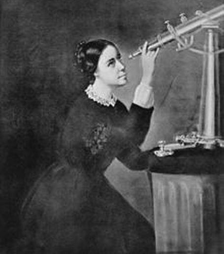 Maria Mitchell odkryła kometę