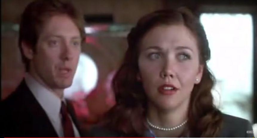 Kadr z filmu Sekretarka