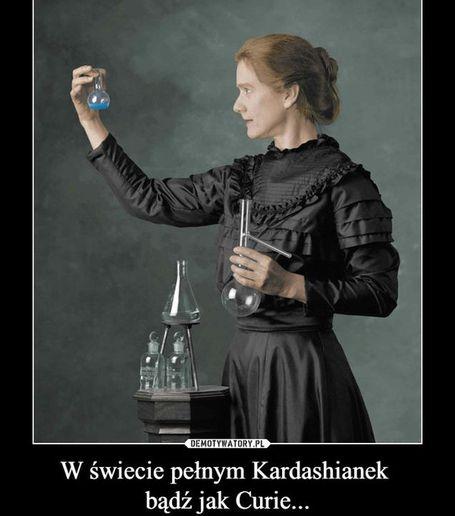Maria Skłodowska-Curie w pracy