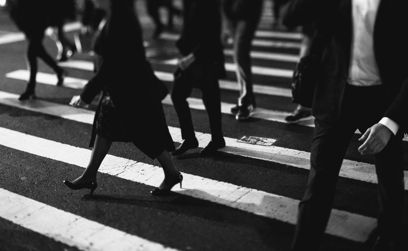Samotność w tłumie pieszych