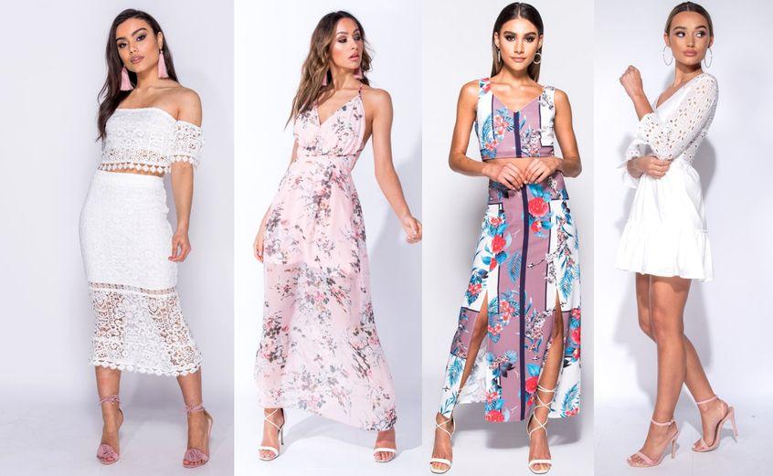 sukienki w stylu boho, przykłady