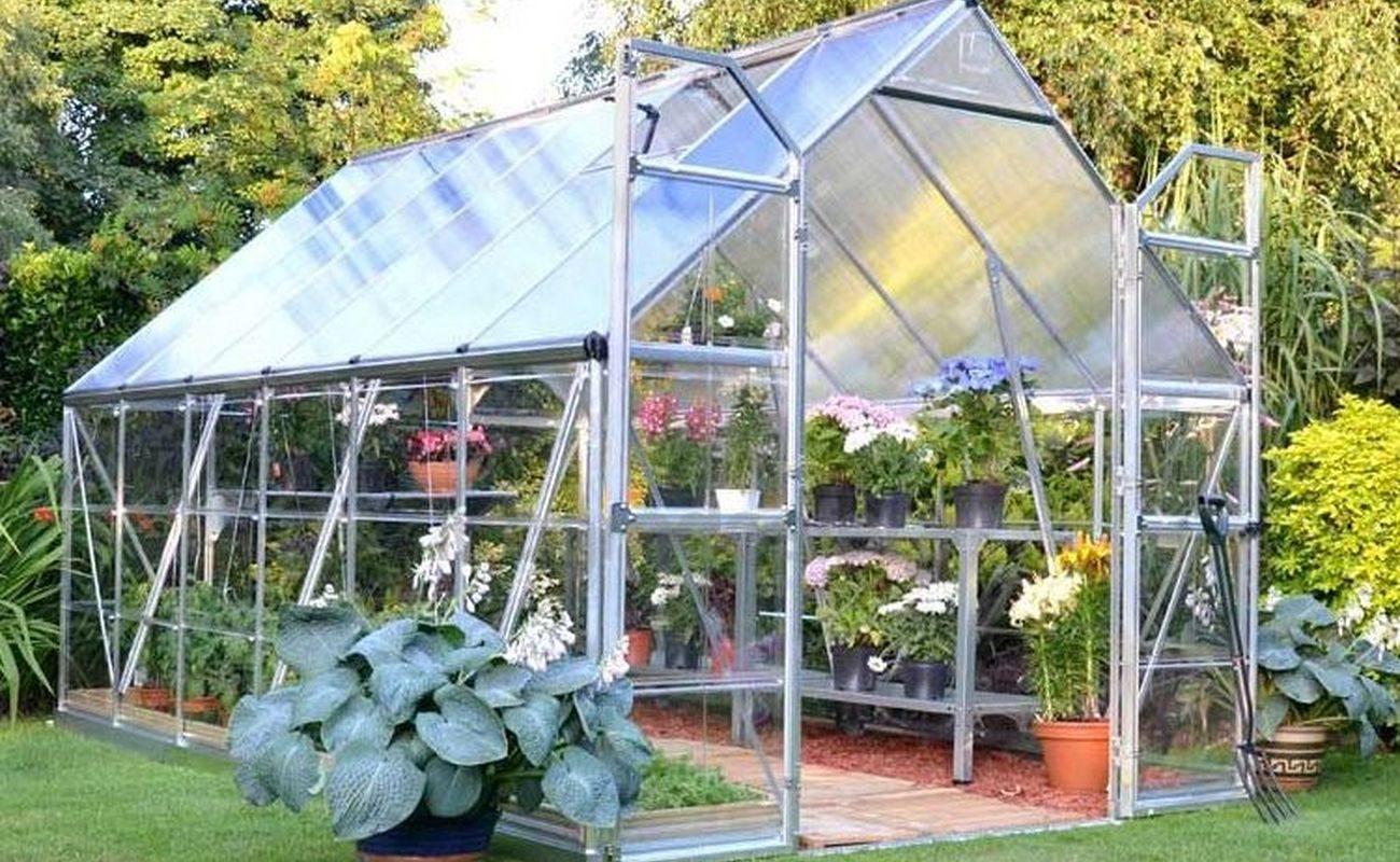 Szklarnia to doskonałe miejsce na to, by przechowywać w niej wrażliwe kwiaty i rośliny