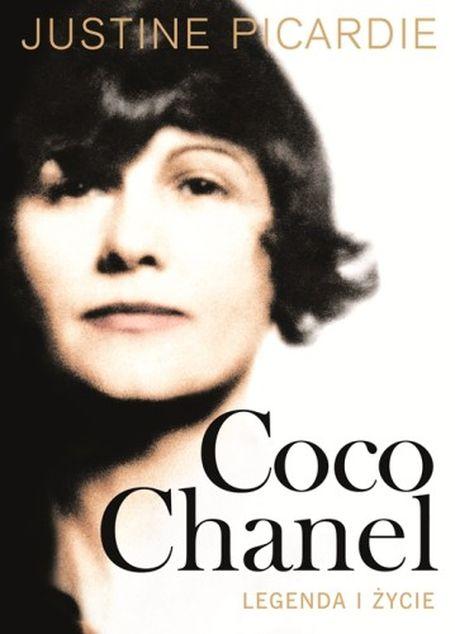 """okładka książki Justine Picardie pt. """"Coco Chanel. Legenda i życie"""""""