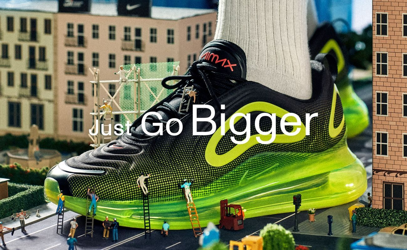 Just Go Bigger z Sizeer i Nike MIASTO KOBIET