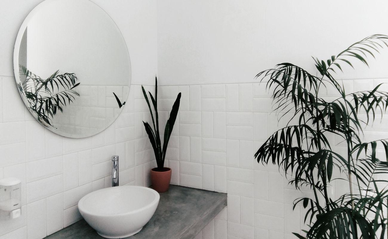 czysta łazienka
