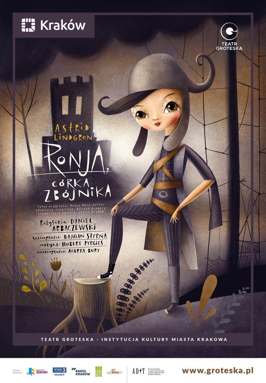 Ronja, córka zbójnika - plakat