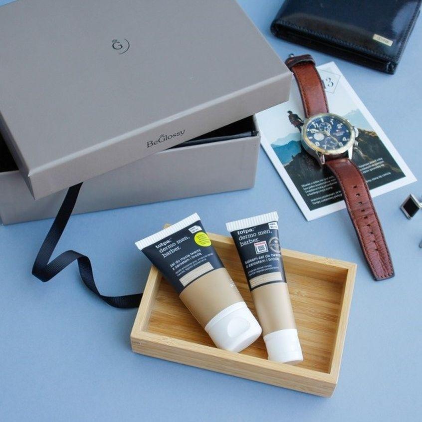Do mycia twarzy idealnie nada się także produkt marki Tołpa z linii dermo men, barber.