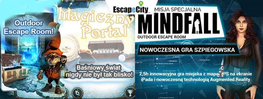 EscapeCity to alternatywa dla pokoi zagadek