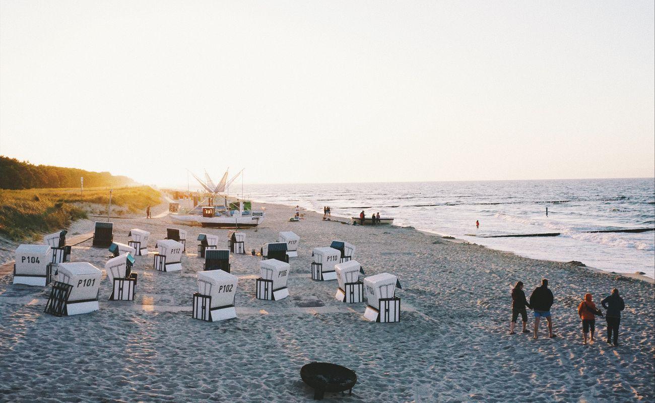 lato nad polskim morzem