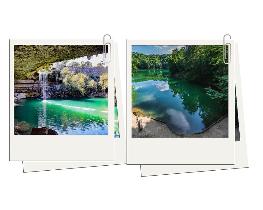 zczecińskie Jezioro Szmaragdowe ma z jeziorem Hamilton Pool znacznie więcej wspólnego niż mogłoby się wydawać.