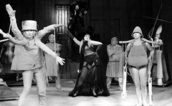"""Spektakl """"Balladyna"""", Teatr Bagatela."""