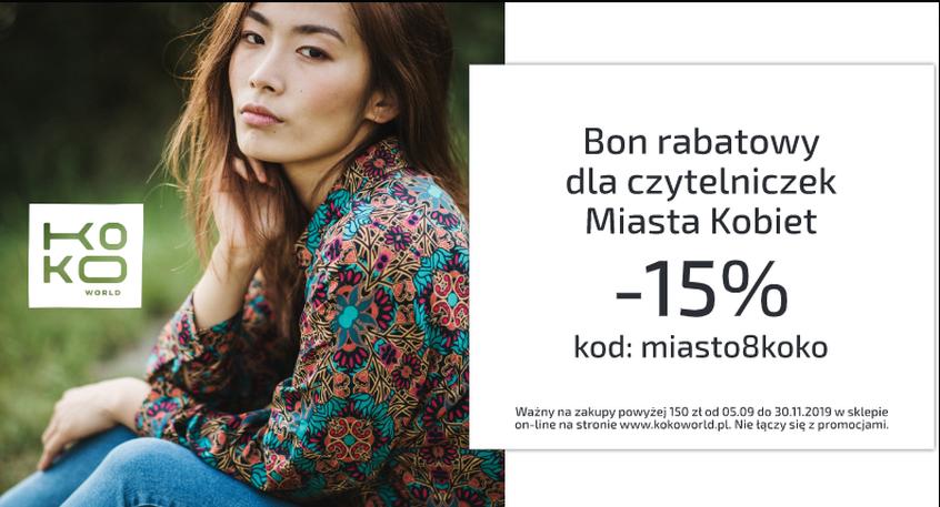 Rabat dla czytelniczek Miasta Kobiet!