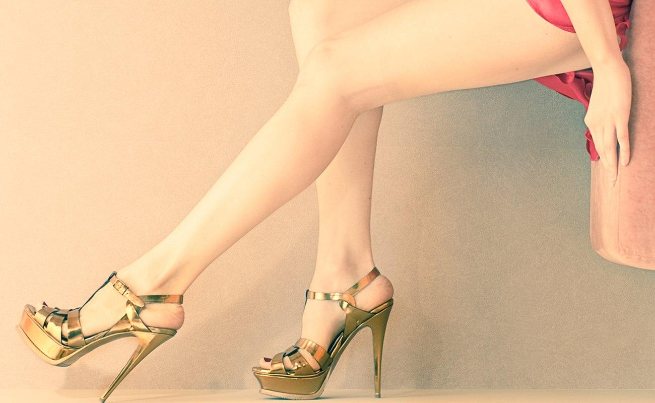 złote szpilki