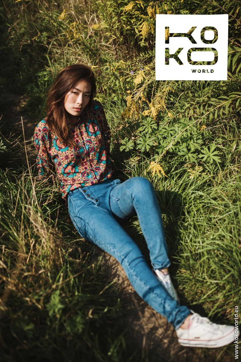 W kolekcji Spring Summer 2019 miał premierę pierwszy jeansowo-tencelowy projekt KOKOworld – jeansy Bosfor.