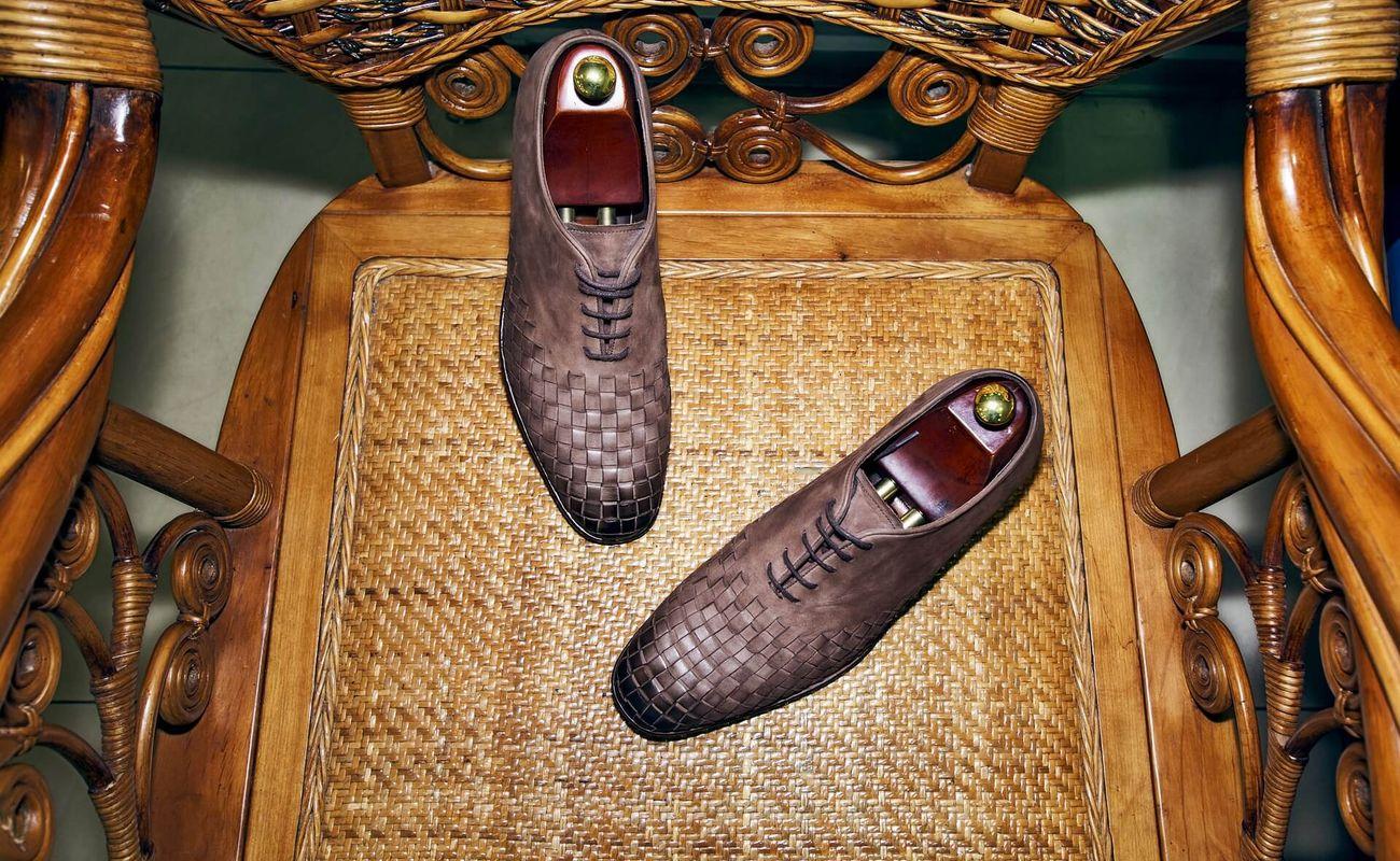 Eleganckie męskie buty