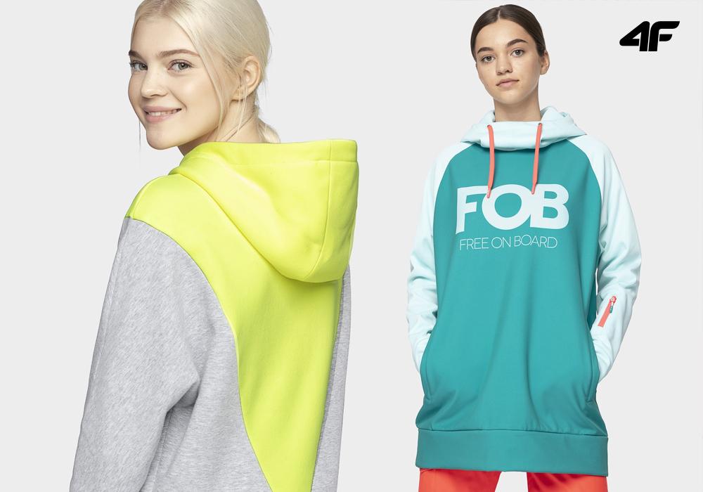 4F odzież oversize