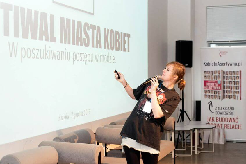 Panelistka Festiwalu