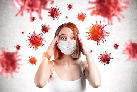 stany lękowe koronawirus