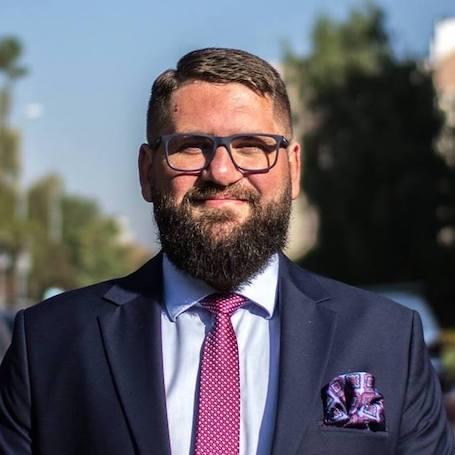 Dominik Franczak – Przewodniczący Rady i Zarządu Dzielnicy IV Prądnik Biały