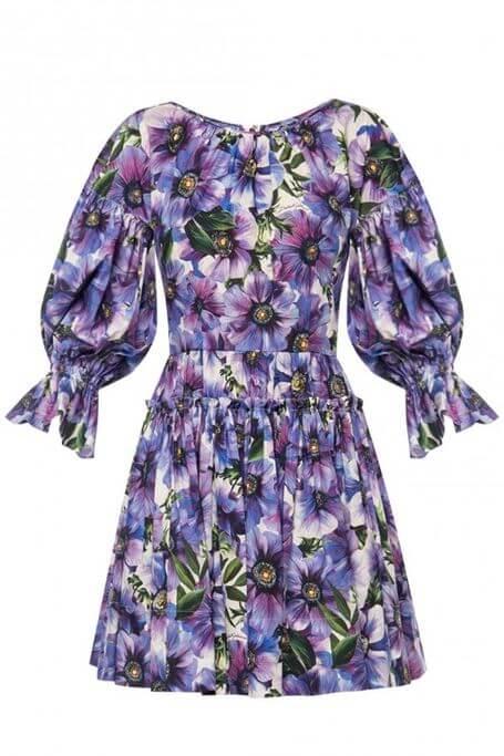 sukienka kwiatowa