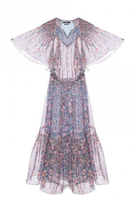 sukienka transparentna