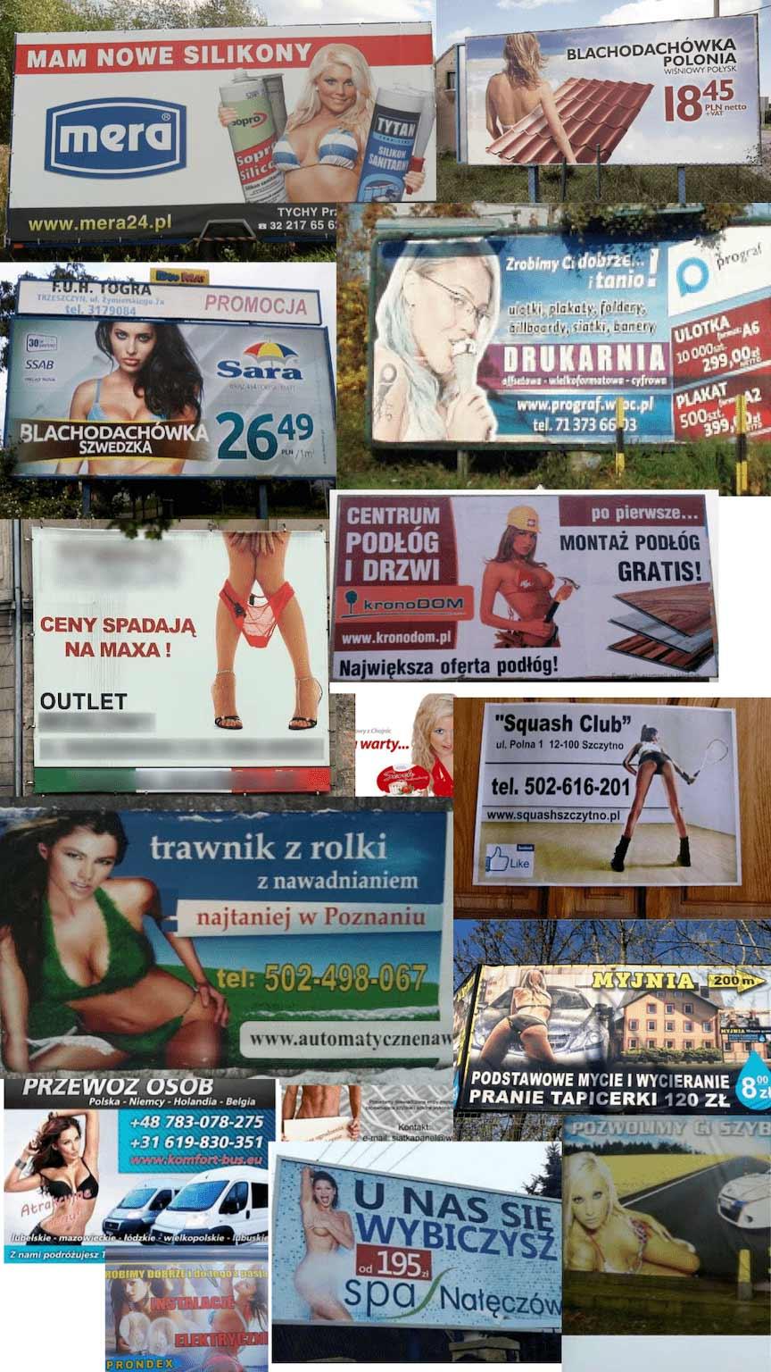 ciało w reklamie