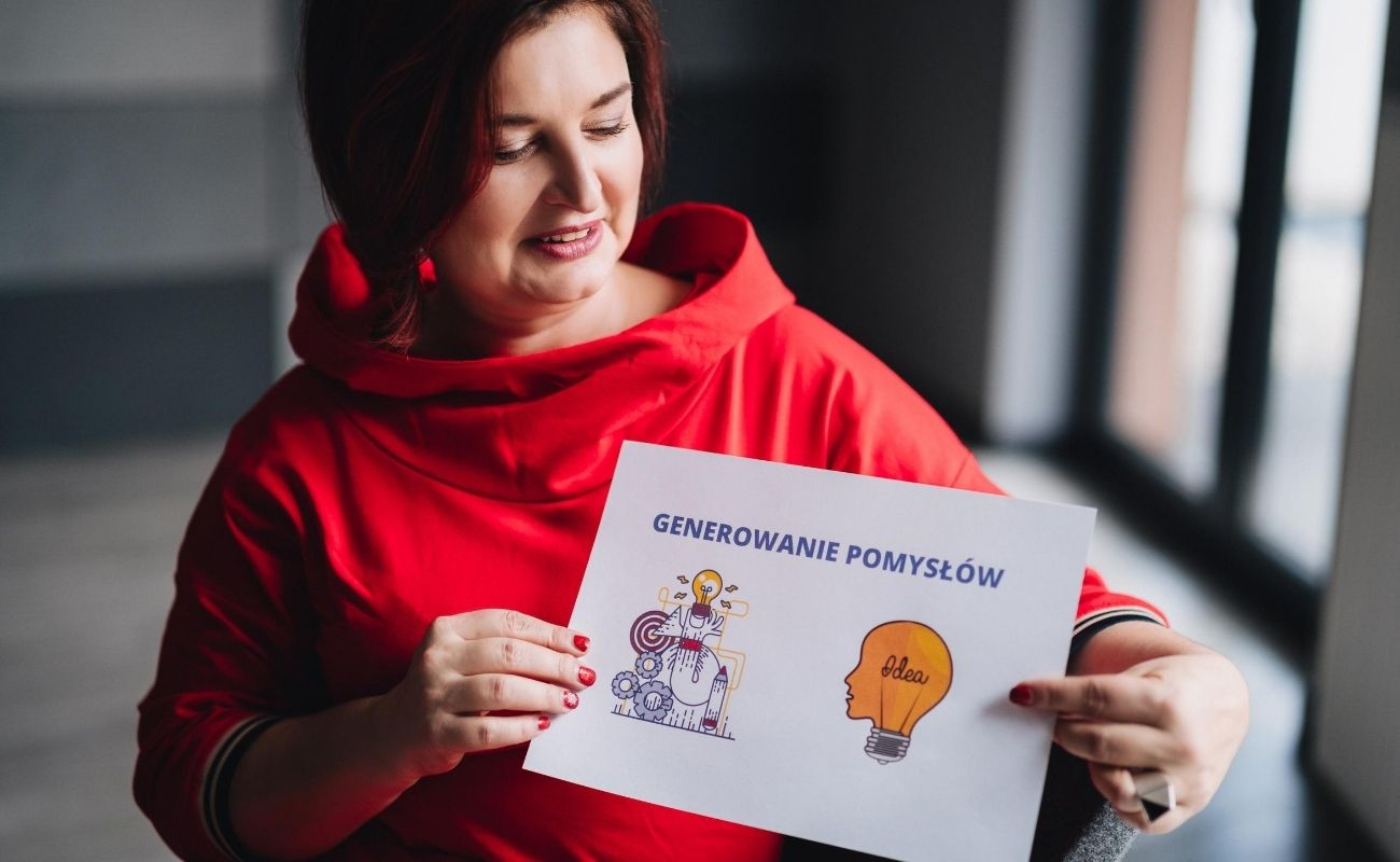 Agnieszka Mikos prowadzi mastermindy metodą Design Thinking