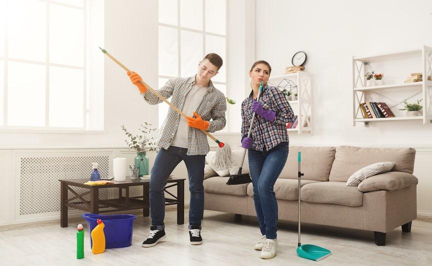 przyjemne sprzątanie