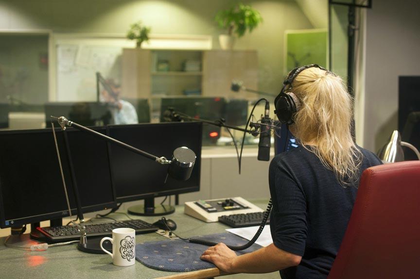 Jak wygląda studio radiowe