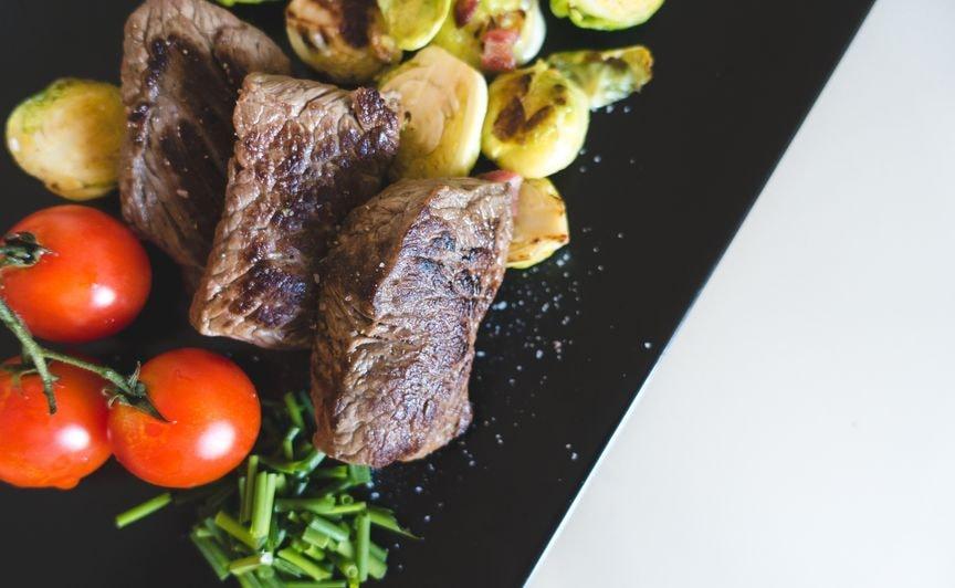 Stek z ziemniakami z diety low fodmap